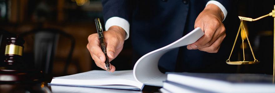 Traduction juridique de documents